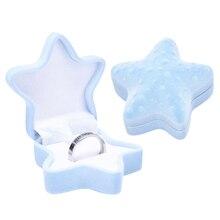 1 шт. Прекрасный бархат ювелирные изделия обручальное кольцо коробка коробка контейнер для серьги ожерелье браслет дисплей подарок коробка держатель 16 стили
