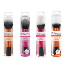 Novo make up escova de maquiagem esponja maquillage técnica real maquiagem pincéis em pó caixa solta cinto fundação escova