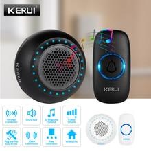 KERUI M523 Wireless Smart Doorbell Kit Home Security Waterproof Door Button Colo
