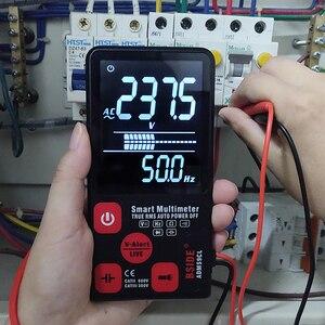 "Image 5 - BSIDEมัลติมิเตอร์แบบดิจิตอลแบบพกพา3.5 ""จอแสดงผลLCD DC ACโวลต์มิเตอร์แบบอนาล็อกTester DIYเมตรความจุNCV Ohm hz Tester"