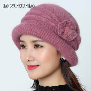 Knitted Hats Scarf F...