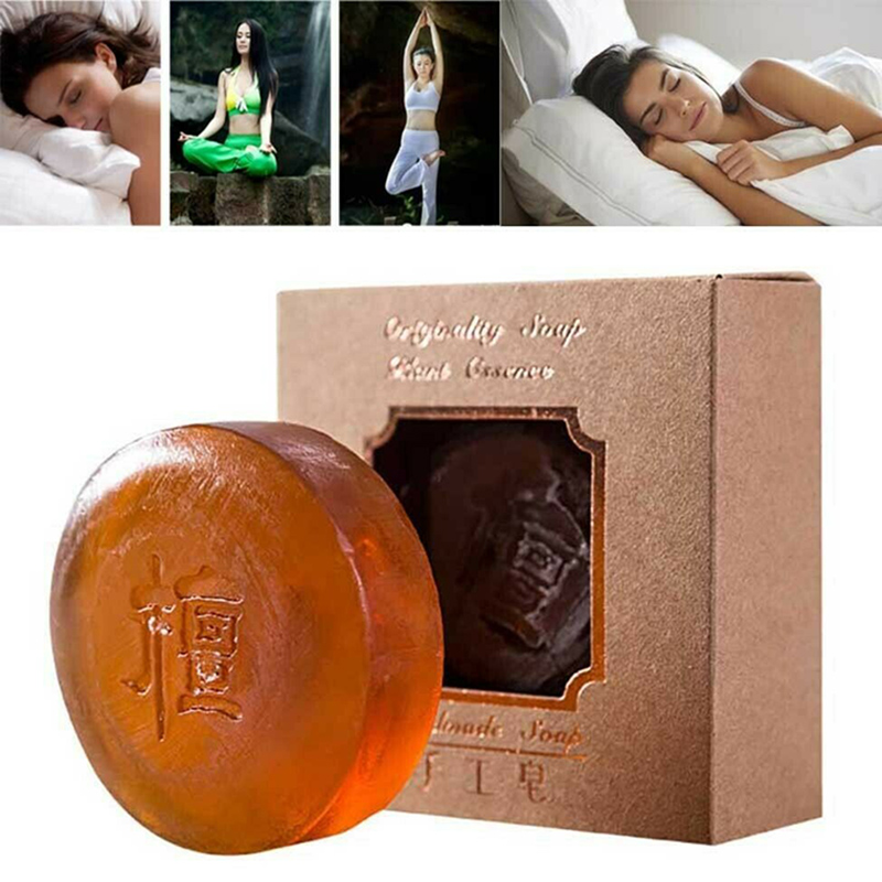 Dropshipping Best Hot Sale Insomnia Away Soap Promote Sleep Essential Oil Facial Oil Control Cleansing Soap   SMJ