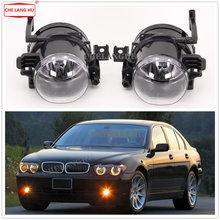 Противотуманные фары для BMW серий 7 E65 E66 730 740 745 d 735 745 760 2001 2002 2003 2004 2005 передние противотуманные фары Противотуманные фары с лампочками