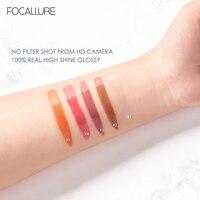 FOCALLURE High Shine Lip Gloss PLUMPMAX Nourish Soft & Smooth Lip Makeup non-Sticky formula Lipgloss 5