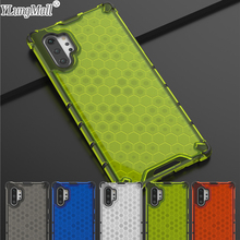 цена на Hybrid PC + TPU Shockproof Case For Funda Samsung Galaxy Note 10 Pro S10 Plus S10 S10e Case 2 in 1 Armor Transparent Back Cover