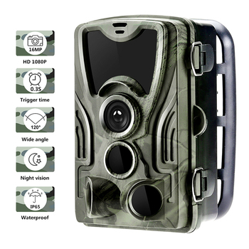 HC801B Hunting Trail Hunting Trap Camera Wild Game Night Animal Thermal Photo Waterproof With 20MP Image Trigger Wildlife Scouti 2