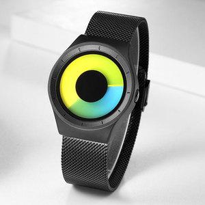 Image 4 - Relogios Masculino Creative Quartz Horloges Mannen Fashion Brand Fashion Rvs Unisex Horloge Klok Man Vrouwelijke Designer
