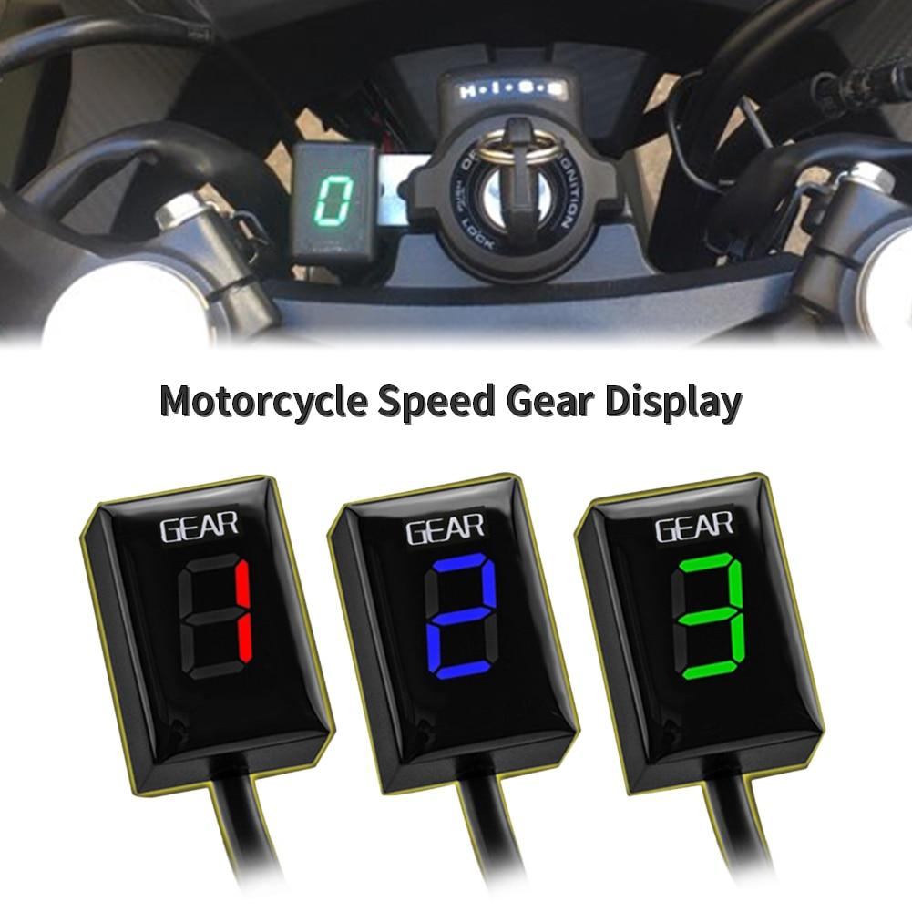 Motorcycle 1-6 Speed Gear Display Indicator Digital Speedometer For Kawasaki Ninja Versys Vulcan Z300 Z1000SX Z800 Z650 KLE650