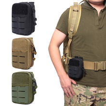 Tactical Molle Pouch Military Waist Pack First Aid Kits Bag Medical Pouch Outdoor EDC Tool Pack Hunting Camping Emergency Bag