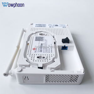 Image 4 - 2019 New Model ZTE F677 GPON ONU 1GE+3FE+1Tel+1USB+Wifi Same function F623 F663N F660, English Version with China unicom LOGO