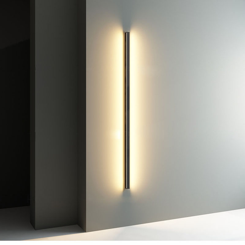 Minimalist Creative Long Wall Lamp ModernLED Wall Lamp  Living Room Bedside Aluminum  Wall Light Ligting Sconce
