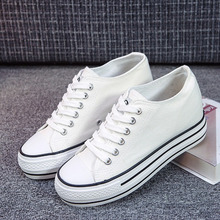 Woman Canvas Shoes Flat Platform Loafers Vulcanize Women Casual Pumps Neutral Fashion Classic Designer Brands Sneaker