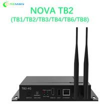 Nova – lecteur multimédia pour carte d'envoi, affichage led couleur, compatible avec wifi TB2, contrôleur nova star TB1, TB2, TB3, TB4, TB6, TB8