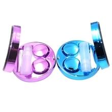 Cute Fashion Contact Lens Case,Portable Travel Glitter Luxur