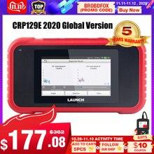 Starten X431 CRP129E Creader 129E obd 2 Diagnose Tool Code Reader Einführung diagnose scanner mit 5 Reset Funktionen CRP 123 129