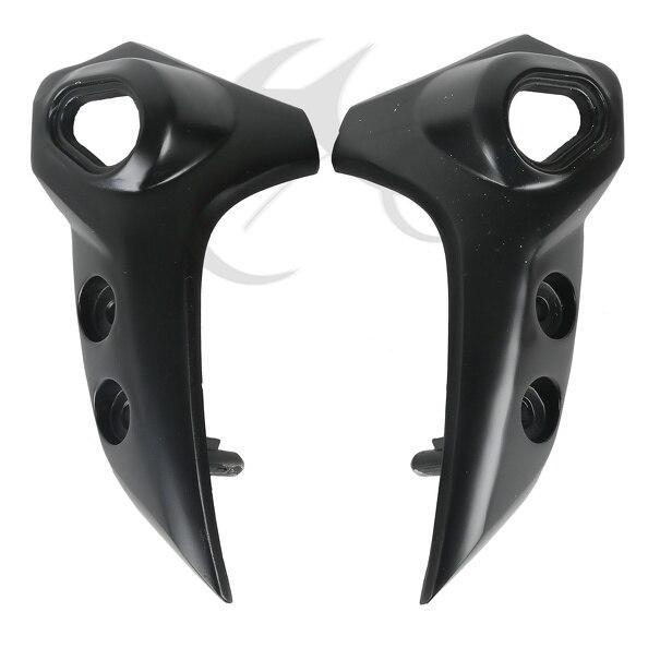 Aluminium Black Bracket Headlight Upper Side For YAMAHA FZ6N FZ-6N 2004-2010