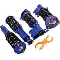닛산 S13 실비아 용 충격 흡수 장치 키트 180 200 240SX CA18DET 89-94 SR20 코일 오버 스트럿츠 서스펜션
