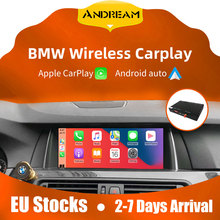 Para bmw carplay para bmw carplay MINI sem fio 320 F30 nbt 1 2 3 4 5 6 7 série F3x F10 F11 2013-2017 Auto Android