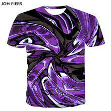 2019 New pattern Psychedelic 3D T Shirt Short Sleeve Dizzy Printing Tee Shirts personality Men Women Unisex Summer Tops Tee недорого