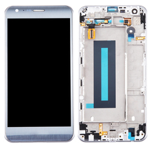 цена на 1Pcs Original For LG K580 X CAM 5.2'' Touch Screen Glass Digitizer Full Assembly Replacement  Gold Silver With Frame