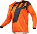 Майка мужская для горного велосипеда 2021, футболка для мотокросса из лисы, горнолыжная футболка FXR, гоночная рубашка, велосипедная рубашка дл...
