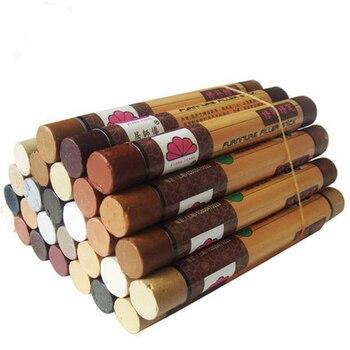 14pcs/set furniture paint floor repair floor wax crayon scratch patch paint pen wood composite repair materials