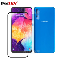 2 in 1 Camera Tempered Glass Screen Protector For Samsung Galaxy Note 10 S10 S9 S8 Plus S10E Protective Flim Glass Note 10 Plus protect flim for 2711p t7c6d6 panelview plus 700