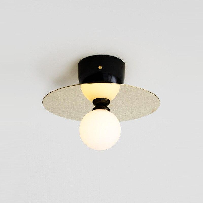 Nordic Led Decke Lichter Kupfer Gold Studie Gang Bar Küche Wohnzimmer Decke Lampe Moderne Einfache Plafondlamp Leuchten