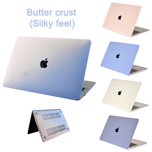 New Cream Gradient Case For APPle MacBook Air Pro Retina 11 12 13 15 16 inch ,Case for A1706 A2159 A2179 Pro13 A2251 A2289