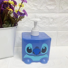 Disney Movie Stitch Creative Cartoon Shampoo bottle ABS Action Figure Collectible Model Toy BOX 300ML