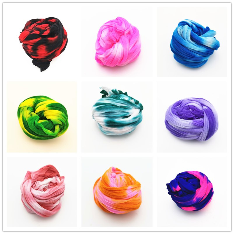 5 pçs multicolorido elástico náilon estocagem flores material elástico estocagem acessório artesanal casamento casa diy scrapbooking artesanato