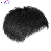 XIYUE Short Men Wig Cosplay Men Party Straight Synthetic Wig for Male Hair Fleeciness Realistic Natural Back Toupee Wigs