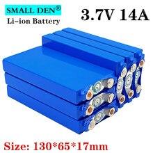 1-6 pz 3.7V 14Ah batteria ai polimeri di litio 12V 24V 36V 48V batteria agli ioni di litio fai da te auto elettrica bicicletta elettrica solare
