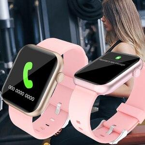 Image 3 - SENBONO 2020 R3L Intelligente Della Vigilanza Degli Uomini Completa di Tocco Inseguitore di Fitness Misuratore di Pressione Sanguigna Intelligente Orologio Da Donna GTS Smartwatch per IOS Android IWO