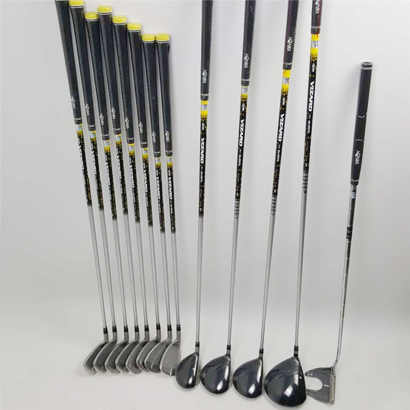 New golf club HONMA BEZEAL 525 full set, golf driver wood putter iron graphite shaft R or S golf club with hood, without bag 3