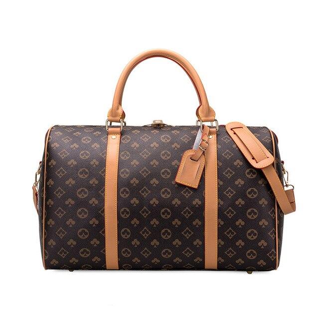 Moda à prova dwaterproof água sacos de viagem homens/mulheres fitness bolsa de ombro de couro bolsa de negócios grande viagem tote bagagem saco masculino/feminino 2
