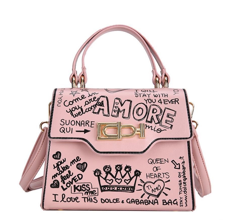 Candy Farbe DE Tasche Damen Kleine Schultertasche Kurier Handytasche Geldbörse