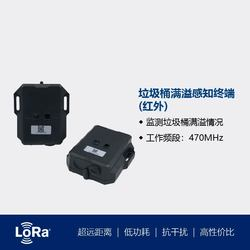 IoT Intelligent Garbage Over Limit Alarm Infrared Remote Alarm Sensor for Monitoring Garbage Overflow in City Streets