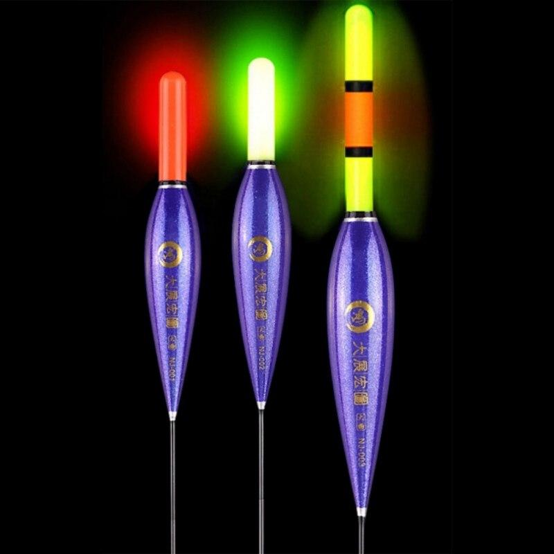 Electronic Float Light Led Luminous Carp Smart Fishing Float Bite Alarm Composite Buoy Fish Automatic Night Accessories Hot