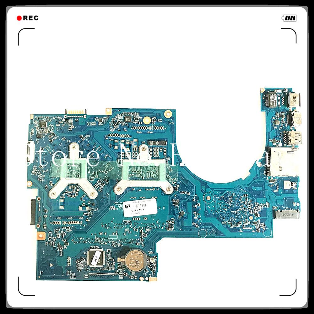 for 17-AB 17-W Laptop Motherboard 857389-601 857389-501 With <font><b>SR2FQ</b></font> <font><b>i7</b></font>-<font><b>6700HQ</b></font> CPU 960M 4G 100% tested fully work image