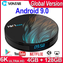 HK1 Max Android TV Box Android 9.0 Smart TV