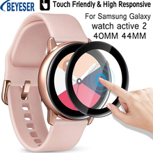 Screen-Protector-Film Watch Active 2 Samsung Galaxy New 3D for 40MM 44MM Clear Curved