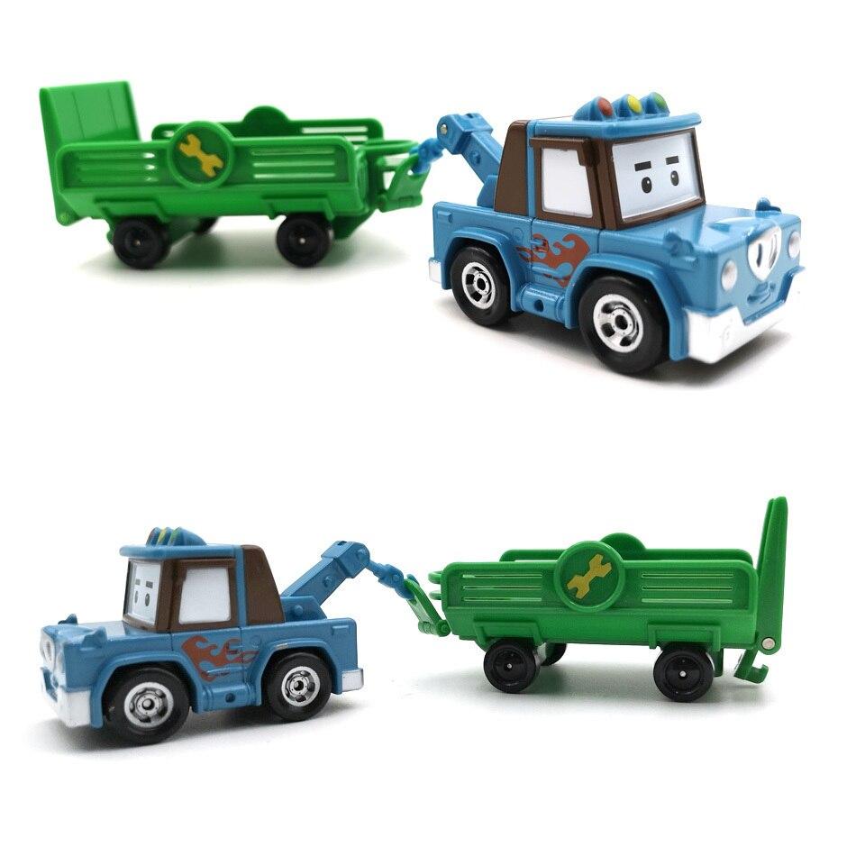 Robocar Poli Car Model Robot Poli Roy Haley Anime Action Figure Toys Car Korea Kids Action Figures Toys For Children Gifts