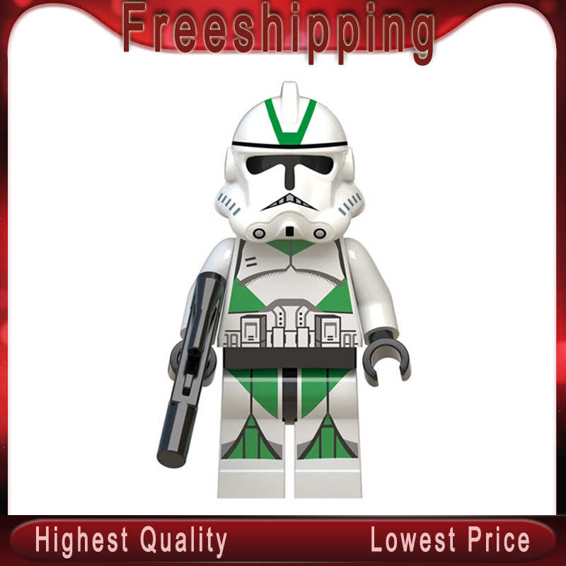 Star Wars legoed New WM554 Snowtrooper Clone Trooper Robot Building Blocks Bricks Toys for children GIFTS