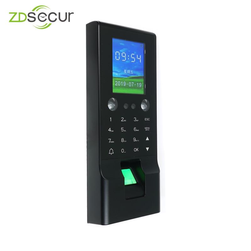 Комплексная идентификационная карта 1000 лица и отпечатков пальцев, доступ к двери с SDK ZDF2