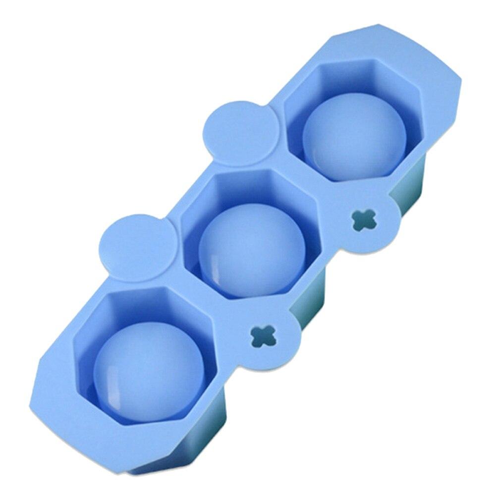 22 см x 9.2 см x 4.7 см 3 отверстия многоугольной поделки из гипса бетона гипса силиконовые суккулент горшок ВАЗа прессформы Поставкы сада кашпо