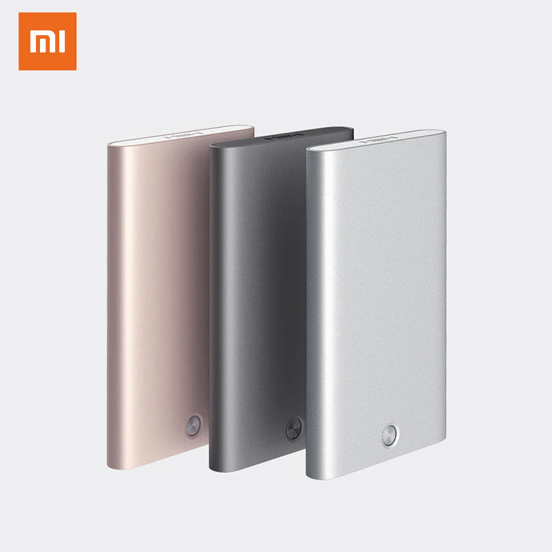 New Xiaomi MIIIW Card Holder Stainless Steel Silver Aluminium Credit Card Case Women Men ID Card Box Case Pocket Purse