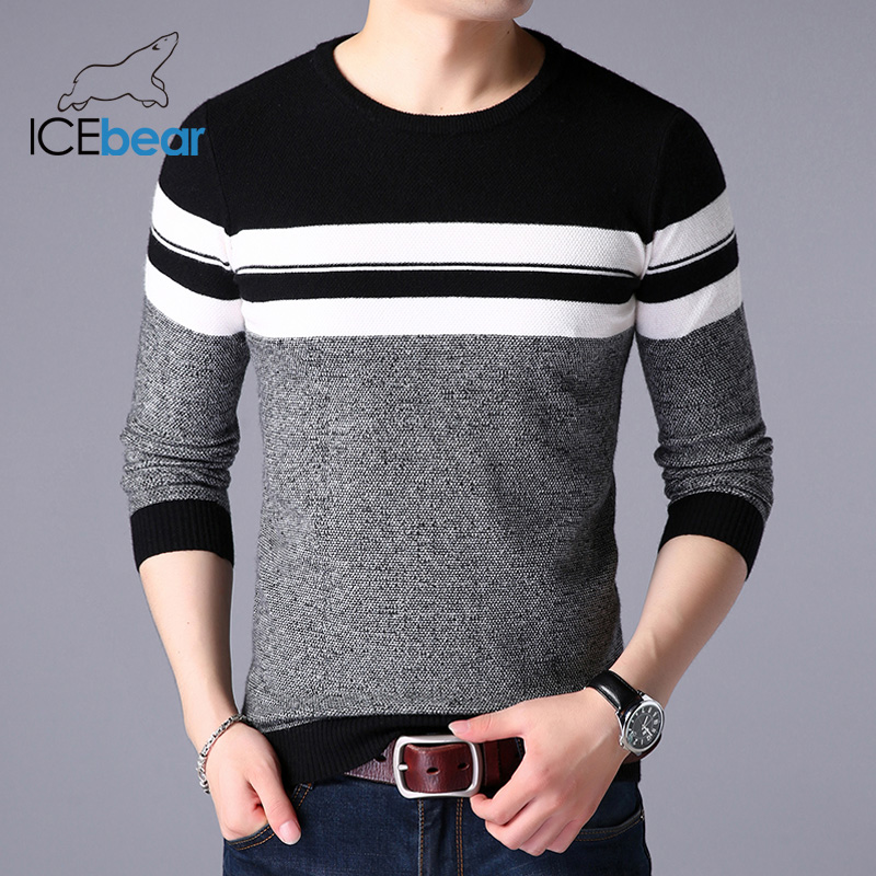 ICEbear 2020 Spring New Male Sweater Casual Men's Pullover Brand Men's Clothing  1723 5