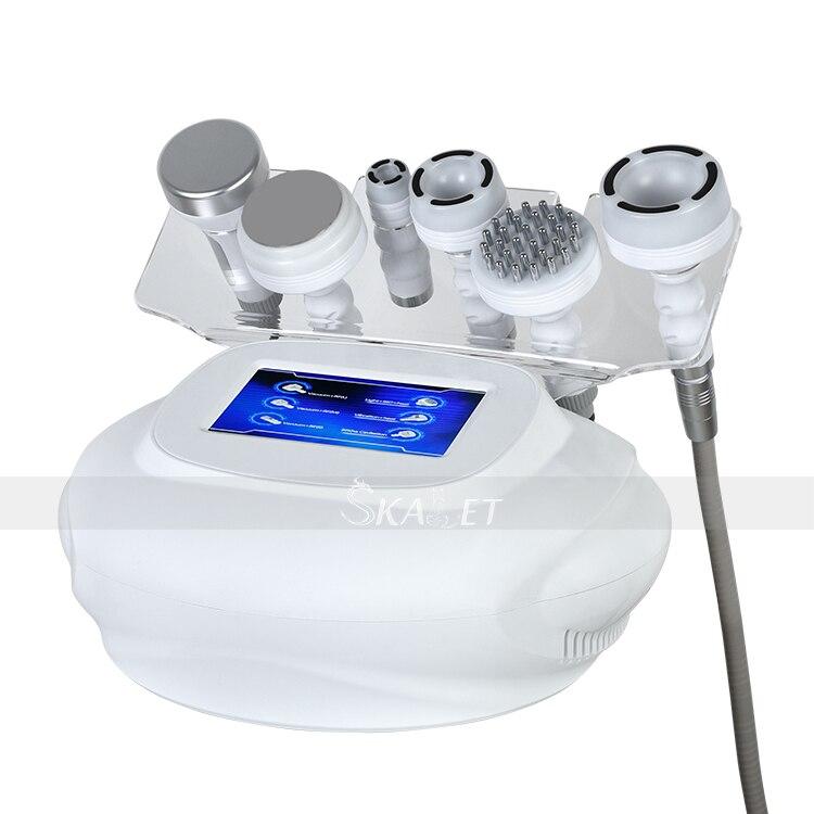 80K kawitacja RF ultradźwiękowe urządzenie do usuwania tłuszczu próżniowego sprzęt do pielęgnacji skóry do liftingu twarzy wybielanie skóry
