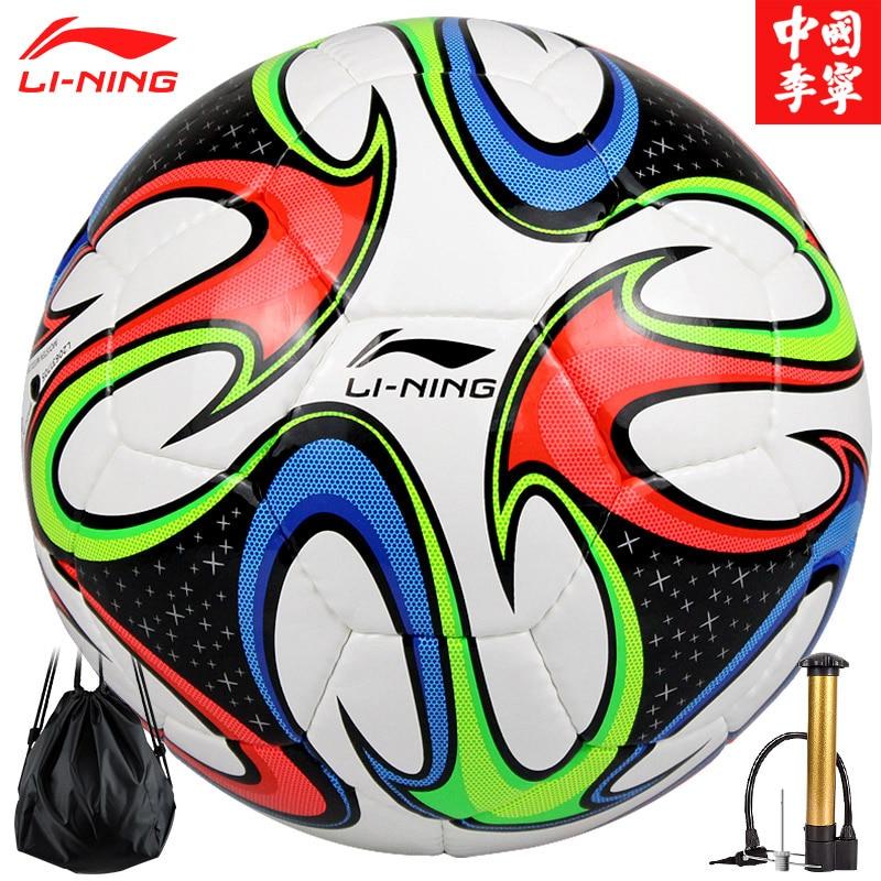 LI NING Football Official Size 4 Size 5 Soccer Ball Goal League Match Outdoor Sports Football Training Balls futebol